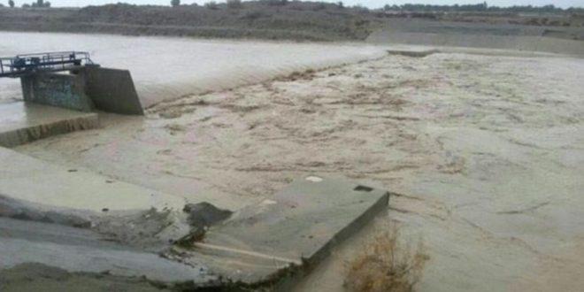 فیلم ناراحت کننده از روستای زیر آب رفته در جهرم استان فارس اسفند 95