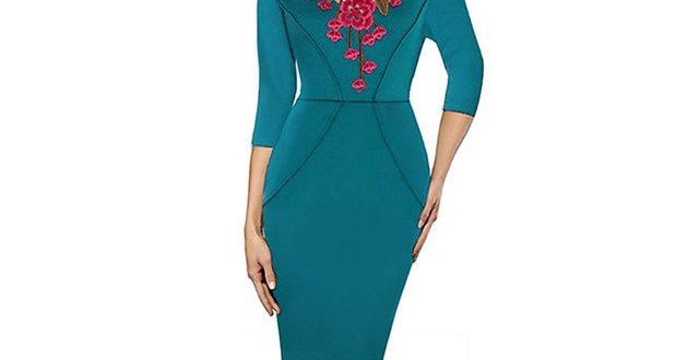 مخصوص خانمهای شیک پوش: مدل پیراهن زنانه نوروز 96