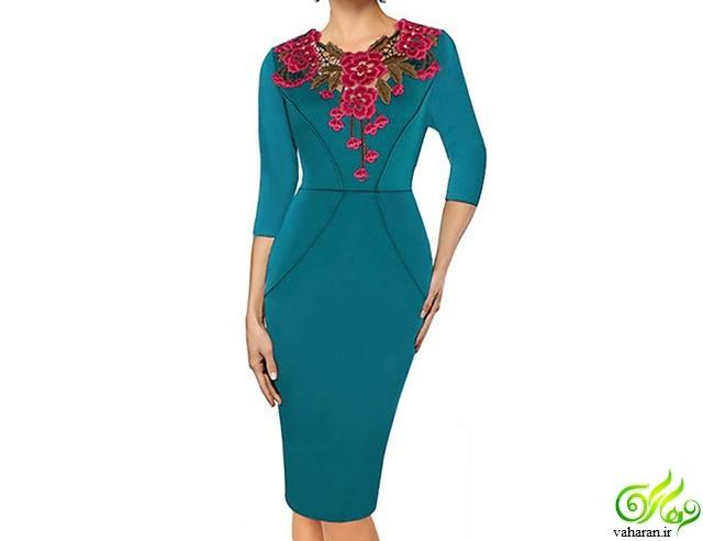 مخصوص خانمهای شیک پوش: مدل پیراهن زنانه نوروز  ۹۶