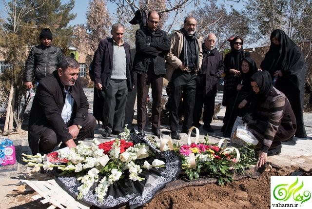 مراسم تشییع ایران بزرگمهری راد اسفند 95 + عکس