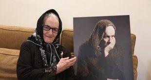 ملکه رنجبر : از مردم می خوام به تشییع جنازه ام بیایند + فیلم