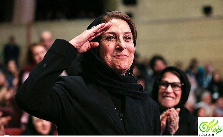 واکنش احسان کرمی به سلام نظامی فاطمه معتمدآریا در اختتامیه جشنواره فجر 95