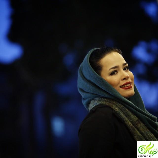 کاهش وزن شدید ملیکا شریفی نیا در جشنواره فجر ۹۵ + عکس