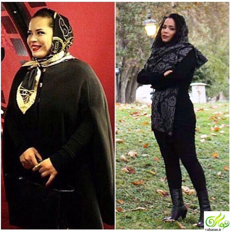 کاهش وزن شدید ملیکا شریفی نیا در جشنواره فجر 95 + عکس