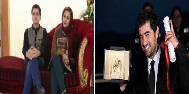 ابراز علاقه یک دختر به شهاب حسینی در مقابل همسرش+ فیلم