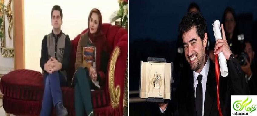 ابراز علاقه یک دختر به شهاب حسینی در مقابل شوهرش + فیلم
