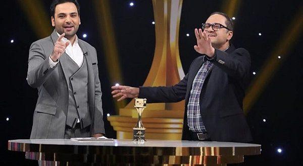 احسان علیخانی به رامبد جوان در سه ستاره : میخوای چند تا زن دیگه بگیری!