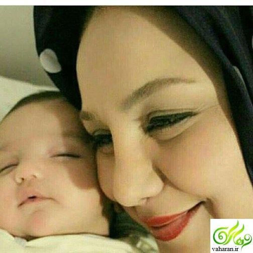 بهنوش بختیاری مادر شد + عکس و اسم دخترش