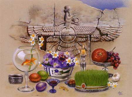 تبریک روز ۶ فروردین یا روز امید / جشن روز اسپیدا نوشت در ایران باستان