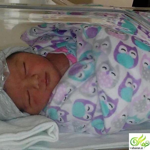 تولد فرزند دوم شیلا خداداد فروردین 96 + عکس