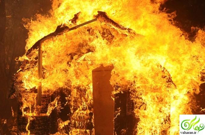 جزییات آتش سوزی انبار لوازم خانگی در خیابان 17 شهریور