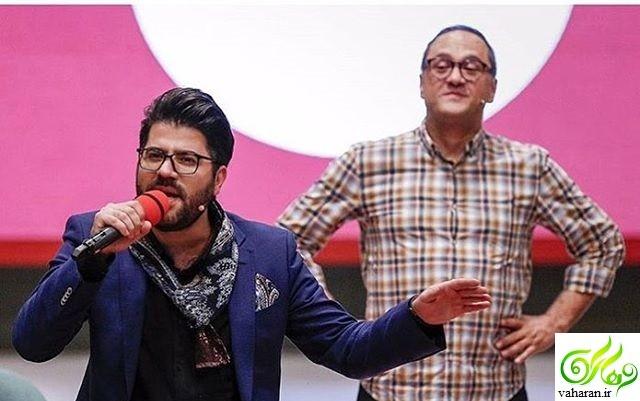 حامد همایون در خندوانه از ماجرای ازدواج و عاشق شدنش گفت + بیوگرافی و فیلم