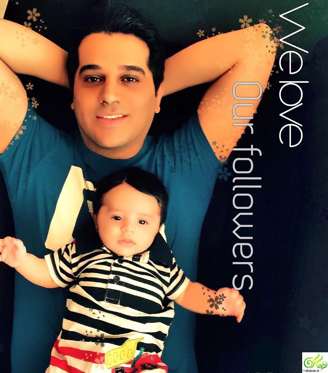 حمید عسکری در خندوانه 10 فروردین 96 + بیوگرافی و عکس های خودش و همسرش و پسرش