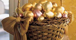 ساده ترین روش برای تزیین تخم مرغ سفره هفت سین 96 + فیلم