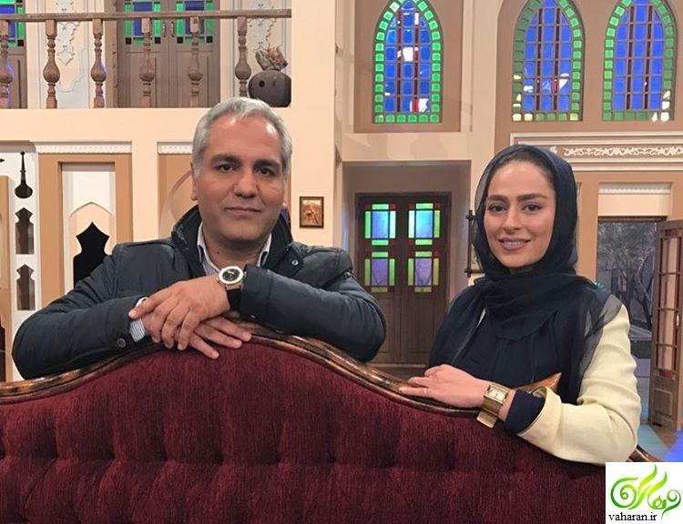 سمانه پاکدل در دورهمی 10 فروردین 96 + بیوگرافی و عکس های جدید