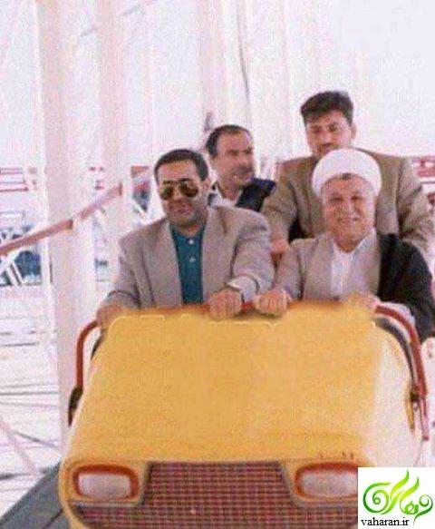 عکس خنده دار هاشمی رفسنجانی که تا به حال ندیده اید اسفند 95