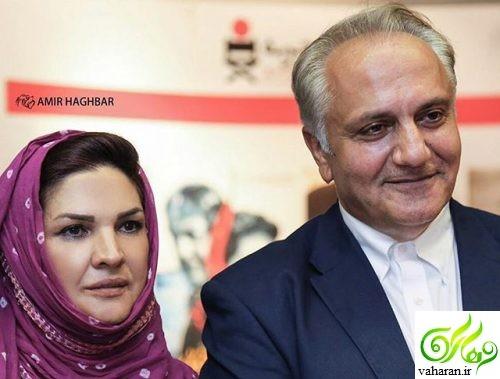 عکس غم انگیز همسر علی معلم بر مزار او + دلنوشته سوزناک اش