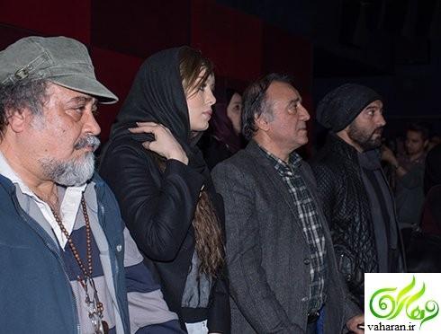 عکس های اکران فیلم سه بیگانه با حضور بازیگران اسفند 95