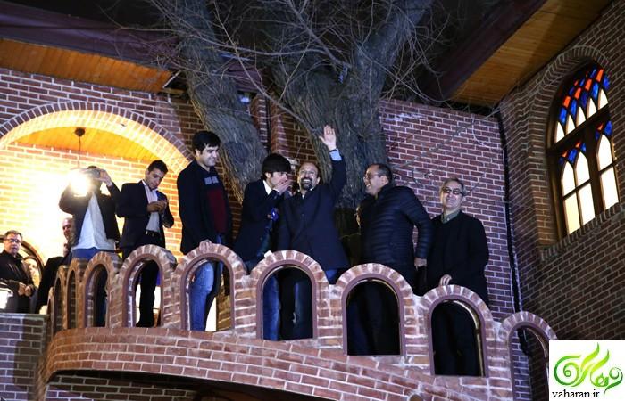 عکس های بازیگران در جشن اسکار اصغر فرهادی جمعه 13 اسفند 95