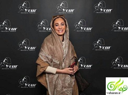 عکس های جدید بازیگران زن در مراسم رونمایی از برند آرایشی Y/our اسفند 95