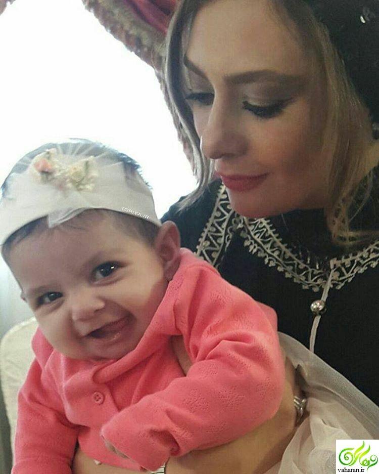 عکس جدید یکتا ناصر و دخترش سوفیا خرداد ۹۶