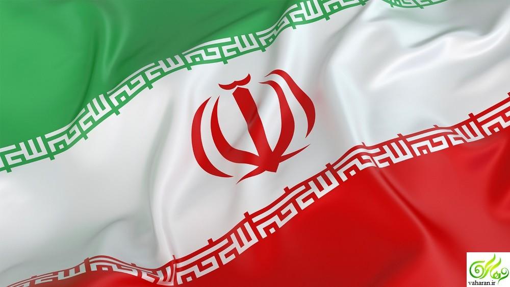 آرم میانی پرچم جمهوری اسلامی ایران چگونه ترسیم شد؟ + عکس