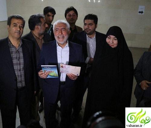 ثبت نام محمد غرضی در انتخابات 96 + عکس