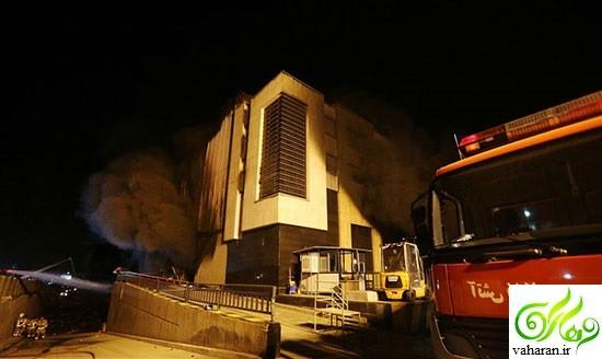 جزئیات خبر آتش سوزی در شرکت کروز و تعطیل شدن سایپا فروردین 96
