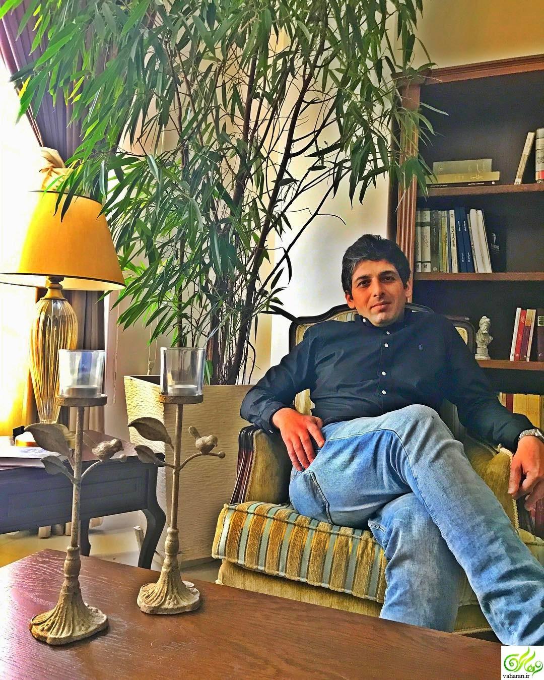 حمید گودرزی در دورهمی 12 فروردین 96 + بیوگرافی و مصاحبه و عکس