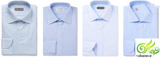 راهنمای انتخاب رنگ پیراهن برای کت و شلوار آبی