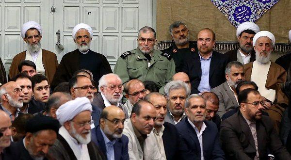 علت غیبت سید ابراهیم رئیسی در دیدار با رهبری اردیبهشت ۹۶ / عکس