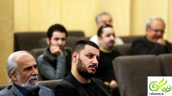 عکس های بازیگران در مراسم ترحیم عارف لرستانی اردیبهشت 96