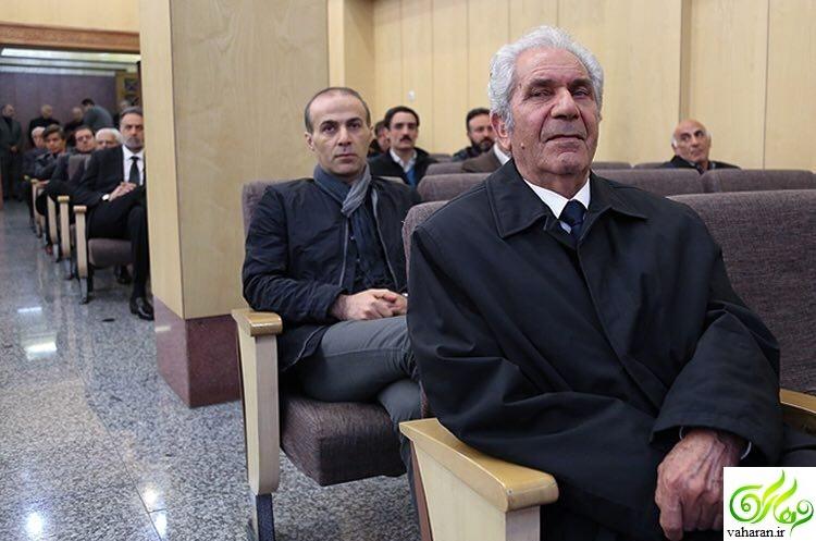عکس های بازیگران در مراسم ترحیم همسر افشین یداللهی فروردین 96