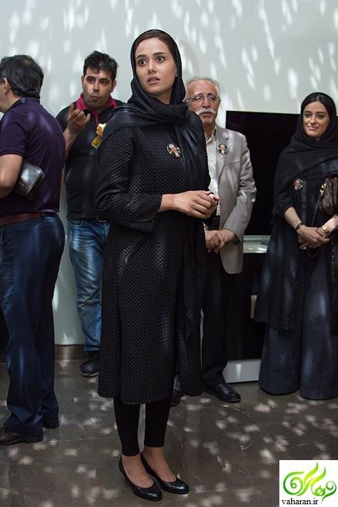 عکس های بازیگران در چهلم علی معلم اردیبهشت 96