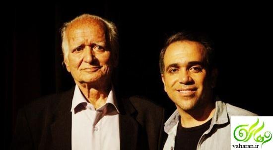 عکس های بازیگران و پدرانشان در روز پدر 96