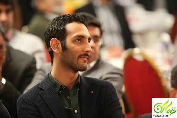 عکس های فرهاد مدیری پسر مهران مدیری در خاکسپاری عارف لرستانی