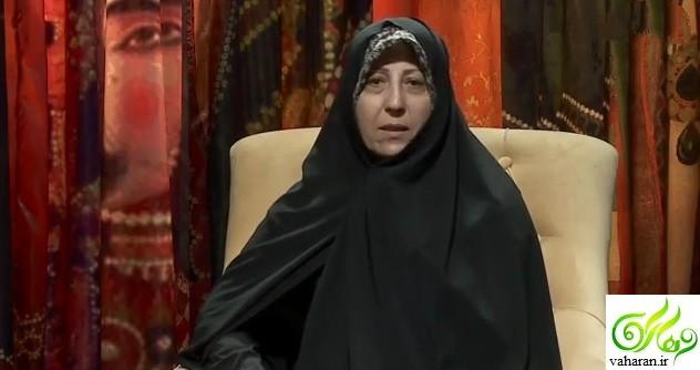 فاطمه هاشمی در برنامه آبان آزاده نامداری فروردین 96 + بیوگرافی و فیلم