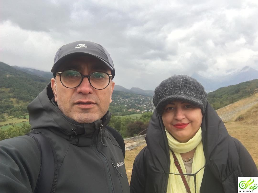 ماجرای ازدواج عارف لرستانی با همسرش الهام ناصری + عکس های الهام ناصری