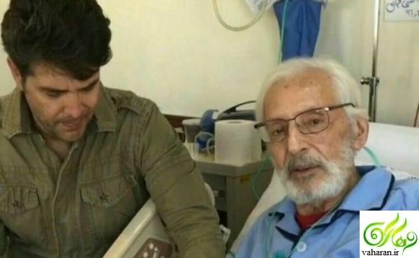 بستری شدن جمشید مشایخی در بیمارستان اردیبهشت 96