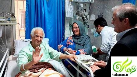 بستری شدن داریوش اسدزاده در بیمارستان + عکس های مراسم بزرگداشت داریوش اسدزاده
