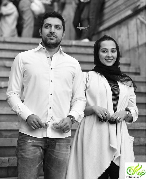 جدیدترین عکس های اشکان خطیبی و همسرش آناهیتا درگاهی در سال 96