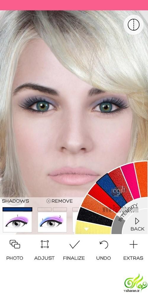 دانلود برنامه Makeup Premium برای اندروید (برنامه آرایش صورت)