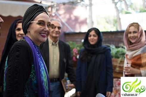 عکس های بازیگران در مراسم رونمایی از فیلمنامه کوروش کبیر خرداد 96