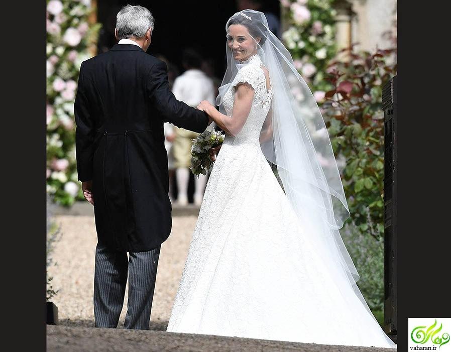 عکس های عروسی خواهر کیت میدلتون / عکس جدید پرنس جورج و پرنسس شارلوت