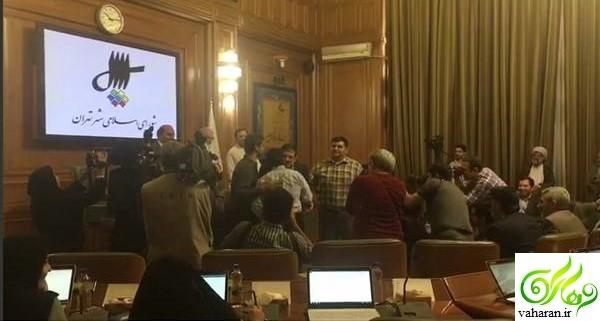 مراسم آشتی عباس جدیدی و علیرضا دبیر + عکس