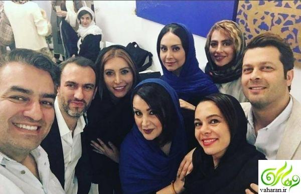 بازیگران در مراسم افتتاحیه رستوران فریبا نادری + آدرس و شماره تلفن رستوران دلیجان