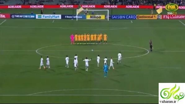 بی احترامی تیم فوتبال عربستان به قربانیان حادثه 17 خرداد 96 + فیلم