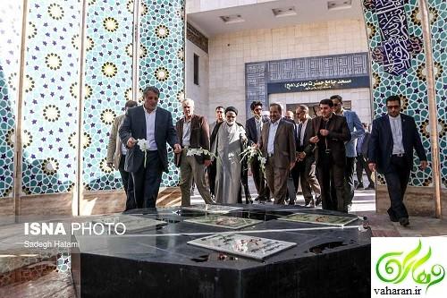 تندیس هاشمی رفسنجانی در دانشگاه آزاد رونمایی شد + عکس