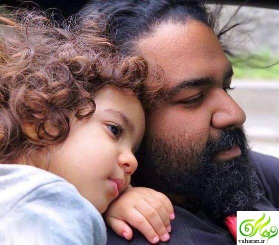 تولد دومین دختر رضا صادقی + عکس و نام دختر دوم رضا صادقی خرداد ۹۶