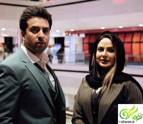 جدیدترین عکس های سولماز آقمقانی و همسرش در سال 96